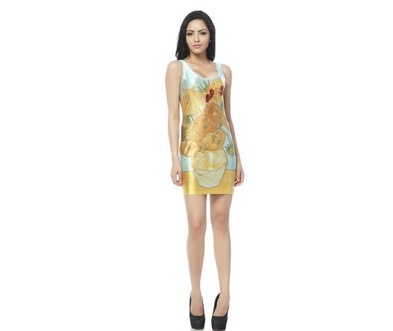 yellow_floral_pattern_body_con_dress_tank_tops_dresses_6.jpg