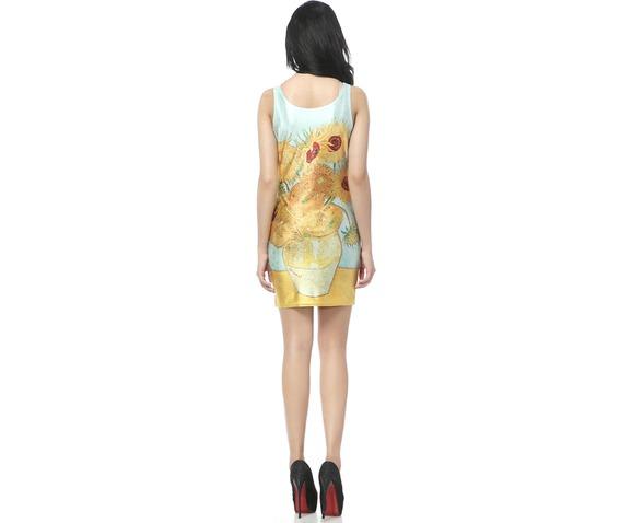 yellow_floral_pattern_body_con_dress_tank_tops_dresses_2.jpg