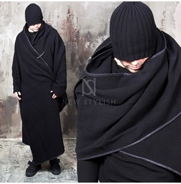 Avant Garde One Sleeve Cape Poncho 243
