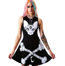 Occult Third Eye Dog Dress