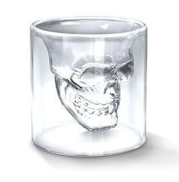 Transparent Crystal Skull Head Shot Glass