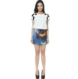 Gothic Wolf Pattern Skirts