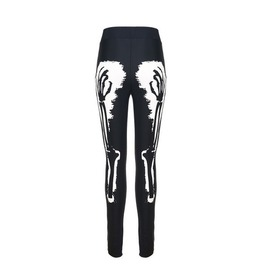 New Punk Fashion Skeleton Printed Leggings