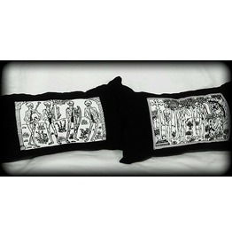 Danse Macabre Pillow Set