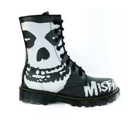 U.P.I.A.B.G. Misfits Fiend Unisex Vegan Combat Boots