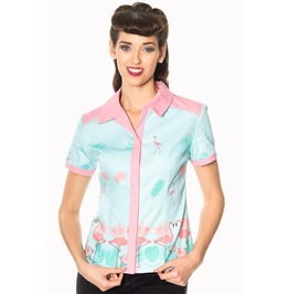 Banned Apparel Going My Way Blouse