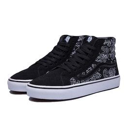 Unisex Rugged Canvas Streetwear Skateboard Sneakers