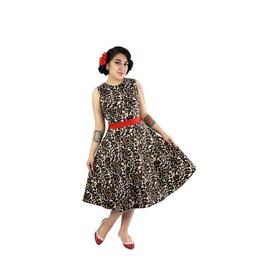 Audrey Leopard Full Circle Holiday Dress