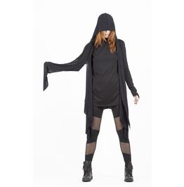 Postapocalyptic Fashion, Wrap Cardigan, Wrap Vest, Hood Cardigan