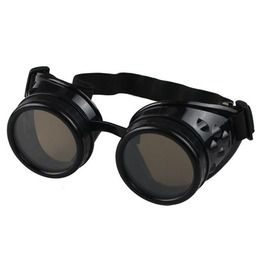 Steampunk Victorian Vintage Retro Welding Cosplay Band Goggles