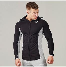 Mens Hood Gym Hoody Black Grey Men New Men Hoody Fitness Clothing