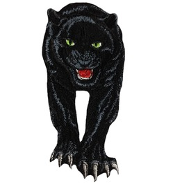Black Panther Patch Iron On Patches Embroidery Sew On Applique