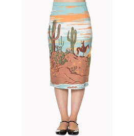 Banned Apparel Magical Day Pencil Skirt