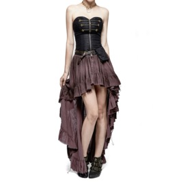 Steampunk Victorian Vampire Pirate Mediaval Style Corset Dress