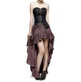 Steampunk Victorian Vampire Pirate Mediaval Style Corset Dress