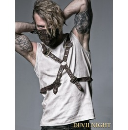 Coffee Rib Shirt With Ether Belt T 351 Co