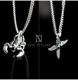 Ancient Symbols Charm Chain Necklace 54
