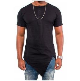 Street Fashion Men's Irregular T Shirt