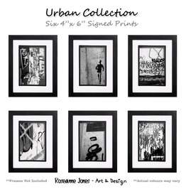 Urban Collection Signed Prints Roseanne Jones