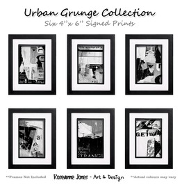 Urban Grunge Collection Signed Prints Roseanne Jones