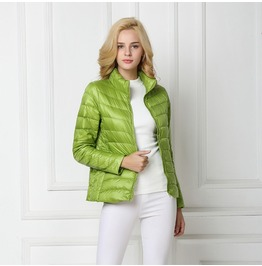Down Jacket Women Light Coat Female Warm Women's Outwear