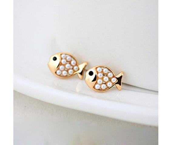 fashion_cute_golden_pearl_fish_stud_earring_earrings_2.jpg