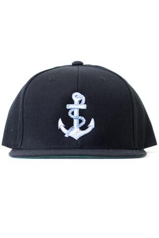 Men's Anchor Snap Back Hat