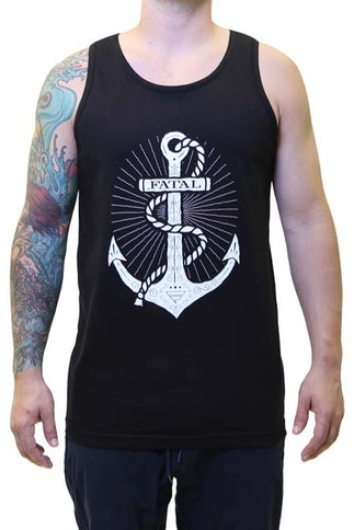 Men's Fatal Anchor Tank Top