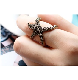 Vintage Cute Starfish Ring