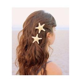 Fashion Lovely Natural Starfish Hairpin