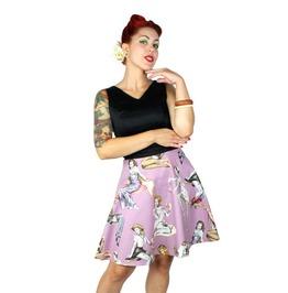 Psychobilly Zombie Pinup Dress.