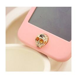 Cool Skull Home Button Sticker I Phone 4,4s,5