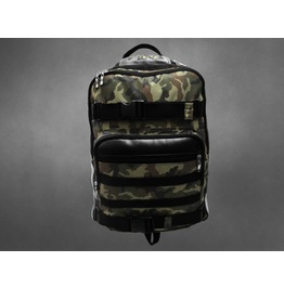 Camo Skate Backpack Military Fashion
