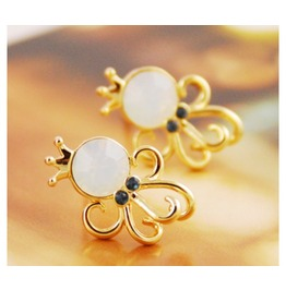 Fashion Cute Opal Octopus Earrings