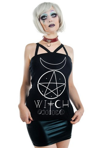 Women's Occult Witch Tank Top
