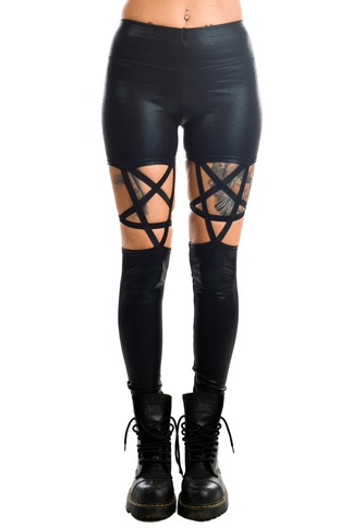 Women's High Waisted Pentagram Leggings