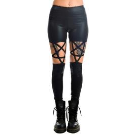 Women's High Waisted Pentagram Leggings