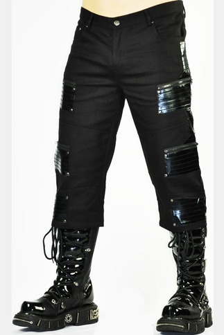 Cryoflesh Black Cyberpunk Pants