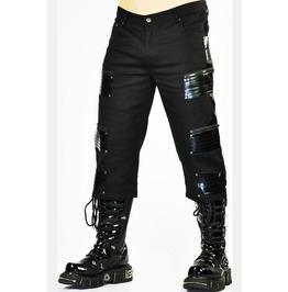Cryoflesh Black Cyberpunk Pants