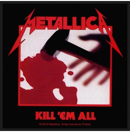 Metallica Kill Em All Patch 10cm X 9.5cm