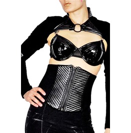 Croyflesh Eco Friendly Faux Leather Waist Cincher