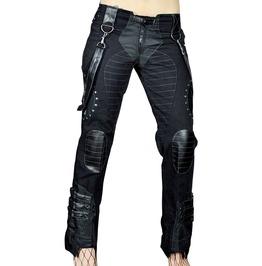 Cryoflesh Black Rivethead Pants