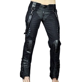 Cryoflesh Black Rivethead Pants