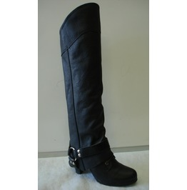 Leg Boots Half Chaps With Heavy Buckle
