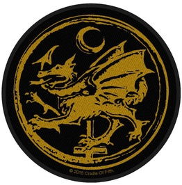 Cradle Of Filth Order Of The Dragon Patch 9cm Dia