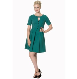 Banned Apparel Don't Be Late Date Swing Dress