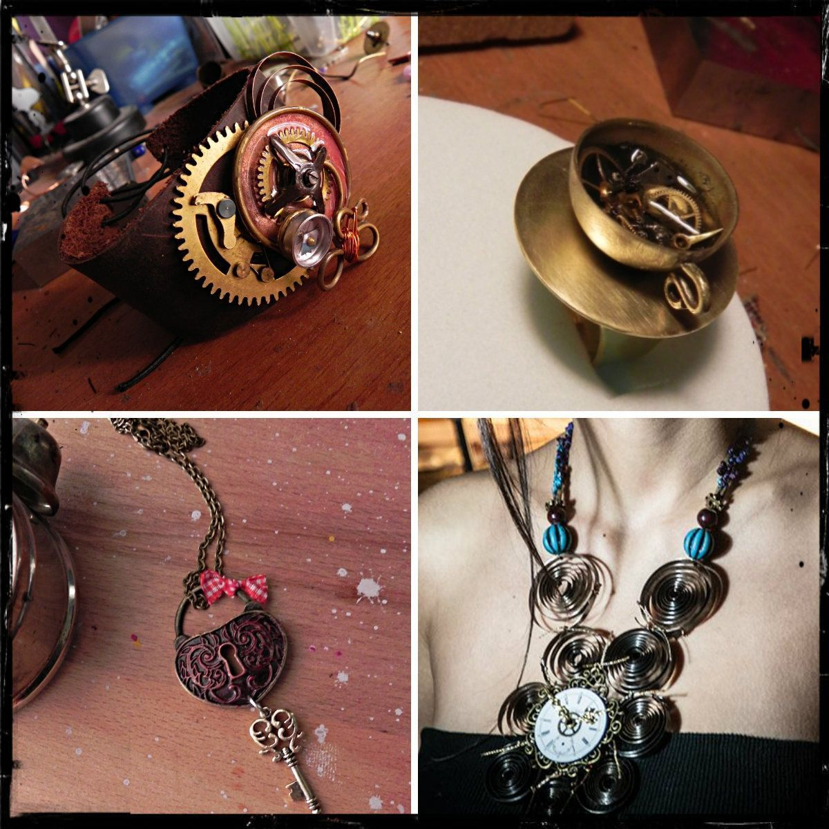 Featured store lilithcreations steampunk handmade jewelry