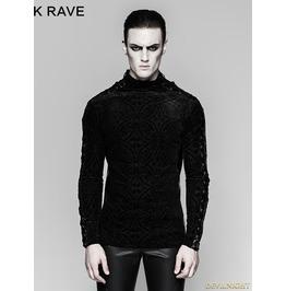Black Gorgeous Gothic Long Sleeve T Shirt For Men 467