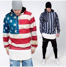 Us Flag Motivated Design Hoodie 125