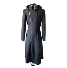 Gothic Cloak Mens Long Coat Steam Punk Cyber Men Long Motorcycle Hoodie